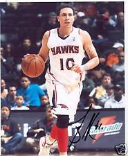 MIKE BIBBY ATLANTA HAWKS SIGNED 8X10 PHOTO W/COA