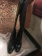 YSL leather boots, UK 3, 36