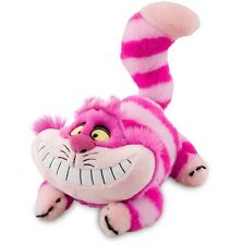 "DISNEY 20"" PLUSH CHESHIRE CAT ALICE IN WONDERLAND MEDIUM STUFFED ANIMAL DOLL NWT"
