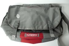 Timbuk2 Commute Messenger Bag 20X14X6  Grey with Red Accent - Large