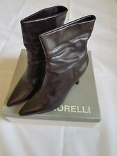 Fiorelli Ankle Boots Dark Brown Size 8.5 RRP $179.95