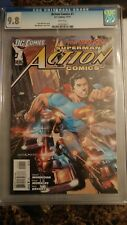 Action Comics #1 CGC 9.8 WHITE PAGES Rags Morales Art NEW 52 Superman RARE GRADE