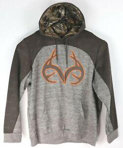 $65 Realtree Men's Brown Hoodie Sweatshirt Size XL