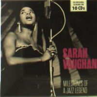 SARAH VAUGHAN - MILESTONES OF A JAZZ LEGEND  10 CD NEW+