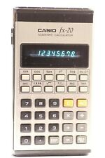 Vintage Casio fx20 Scientific Calculator