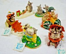 qty 6 Charming Tails, Lot of 6, Silvestri, Dean Griff Collectibles