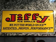 New listing Jiffy Ice Auger decal 14�x6.6�