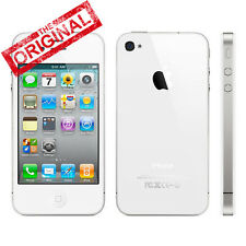 Auténtico Apple iPhone 4S 16GB Blanco (Desbloqueado) Smartphone Móviles libres