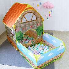 Kinder Spielzelt Kinderzelt Spielhaus Pop Up Spielhöhle Bällebad Babyzelt Garten
