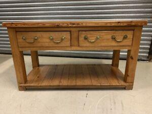 Solid Pine Pot Board Dresser Base