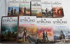 S.M. STIRLING  -10 OF HIS BESTSELLERS - THE HIGH KING OF MONTIVAL,CONQUISTADOR++