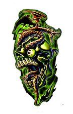 Tattoo style Skull  Design  iron on transfer