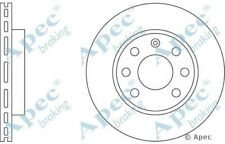 1x OE Quality Replacement Front Axle Apec Vented Brake Disc 4 Stud 236mm Single