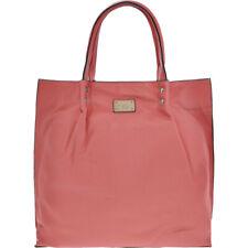 new designer Paul Costelloe logo'd salmon pink tote lined BAG handbag £275 bnwt