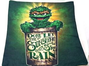 Oscar The Grouch Pillow Cover - Sesame Street Pillow Case Humorous Pillow Gothic