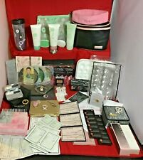 Mary Kay Mix Bag Skincare Makeup Lot Pins Watch Full Samples Convention Jewelry