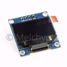 """NEW 0.96"""" 128X64 I2C OLED for Arduino - White + dupont cables"""