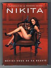 NIKITA - INTÉGRALE PREMIÈRE SAISON - 2010 - 5 DVD SET - TRÈS BON ÉTAT