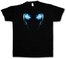 Mark II Armor Eyes T-shirt Tony Stark Iron Arc Reactor Sign III 3 on