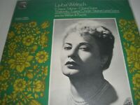 Ljuba Welitsch Soprano Salome Closing Scene Vinyl LP & Programme HMV HLM 7006