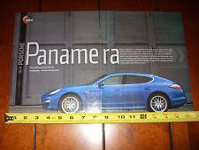 2010 PORSCHE PANAMERA S 4S TURBO - ORIGINAL ARTICLE