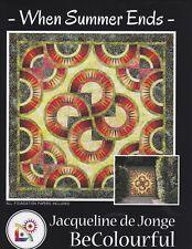 Jacqueline de Jonge 58x58 INDIAN SUMMER Foundation Paper Pieced Quilt Pattern