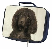 More details for irish water spaniel dog navy insulated school lunch box bag, ad-iwslbn