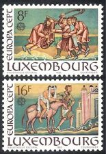 Luxembourg 1983 Europa/Paintings/Codex/Samaritan/Parables/Art/Book 2v set n43179
