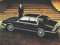 1984 Chrysler NEW YORKER Brochure / Catalog w/ Color Chart: TURBO.........NOS!