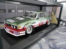 BMW 3.0 CSL ETCC Zandvoort 1979 #1 Grano Joosen Italia Juma Mobi Minichamps 1:18