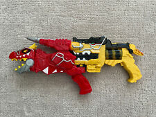 Power Rangers Dino Charge Deluxe Yellow Morpher Blaster & Red T-Rex Gun MMPR