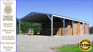 Open Farm Prefab Storage Building