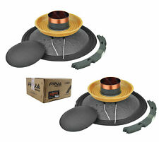 """Pair Of Prv Audio 10"""" Subwoofer Replacement Cone Kit Rk10W650A"""
