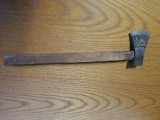 Vintage Antique Hand Forged Axe Hatchet with Handle