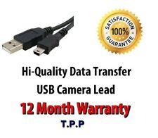 USB Camera Cable Lead Canon Powershot A1400 A2500 A2600 N100 SX50 HS SX600 HS