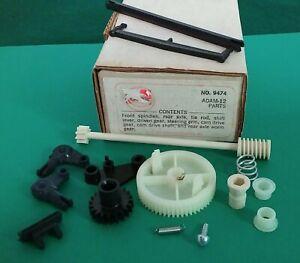 Cox Adam-12 Model Car Parts Lot w/Spindles, Rear Axle, Tie Rod & More