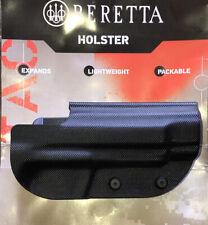 Beretta Belt Holster 92fs-96 - Rh Polymer Black