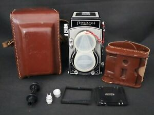 SERVICED & TESTED FLEXARET VI TLR CAMERA CZECH MEOPTA WITH ACCESSORIES