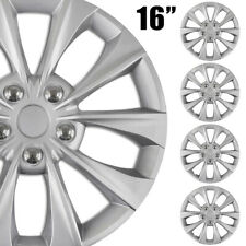 "4-Pack NEW 16"" Silver Hubcap Wheelcover that FITS 2013-2019 NISSAN SENTRA"
