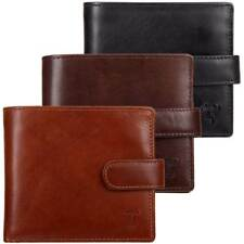 High Quality Leather Wallet : Mala 'Toro' Collection, ID Window,Tab : 3 Colours