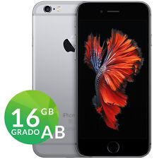 APPLE IPHONE 6S 16GB SPACE GRAY NERO GRADO AB RIGENERATO RICONDIZIONATO GARANZIA