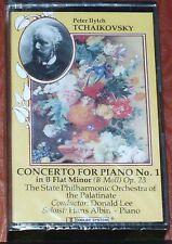 Tchaikovsky Concerto For Piano No 1 CASSETTE ALBUM Bibi Music BBM76 NEW SEALED