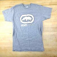 Ecko UNLTD Mens Sz Medium , Gray Logo Print T-Shirt MS4