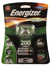 ENERGIZER VISION HD+ HEADLIGHT 200 LUMENS DIMMABLE NIGHT VISION