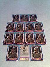 *****Loretta Swit*****  Lot of 14 cards / Hollywood Walk of Fame