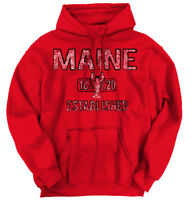 Maine Lobster Vintage Gym Workout ME Vacation Hoodies Sweat Shirts Sweatshirts