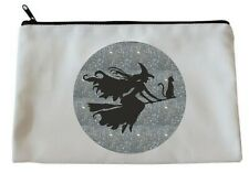 WITCH/BROOMSTICK/CAT Accessory/Pencil Case/Make Up Bag