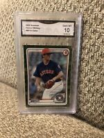 2020 Bowman FORREST WHITLEY Camo Rookie Graded 10