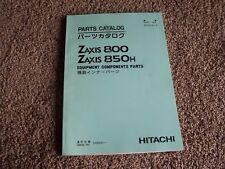 Hitachi Zaxis 800 850H Excavator Factory Original Parts Catalog Manual 000001-