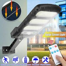 213LED Outdoor Solar Street Wall Light Sensor PIR Motion LED Lamp Remote Control